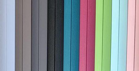 tablettes 9 couleurs