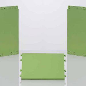 montant et tablette clikube vert bambou