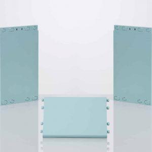montant et tablette clikube bleu pastel