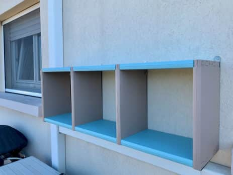 support mural fixcube pour etageres clikube