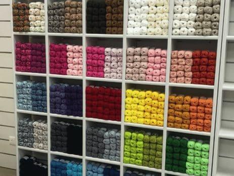 étageres modulables rayon laine